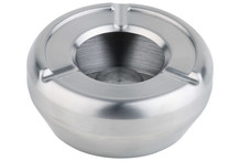 Stainless steel ashtray, windproof cover