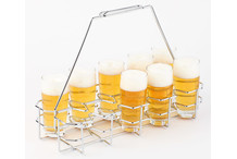 Beer bottle rack