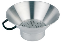 Fry dripping strainer