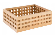 Beech wood bread box