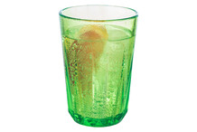 Drinkings green cups Crystal, box of 48 pieces