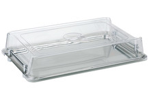 Clear plastic cover GN 1/1 high stacker