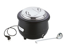 Electric soup warmer, 400-450 W