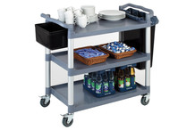 PP serving trolley 3 levels