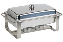 Stainless steel chafing dish GN 1/1  Caterer Pro collection