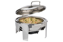 Round chafing dish Easy induction