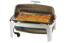 GN 1/1 chafing dish, Roll top cover Elite collection