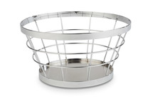Metal stand / basket Ø 21 / 15 cm - Baskets collection