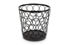 Black metal Tennis Stand / Basket