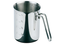 Stainless steel graduated jug