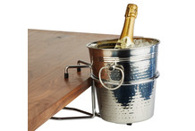 Champagne bucket table holder
