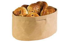 Oval bread basket Paperbag