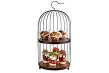 Buffet stand Bird Cage