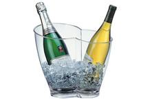 Wine or Champagne bowl, for 2 bottles