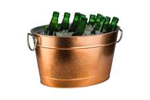 Beverage tub copper look