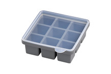 2 silicon moulds for XXL ice cubes 4 x 4 x 4 cm