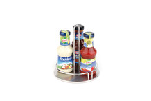 Condiments and sauces serving stand