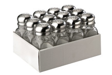 Set of 12 salt / pepper shakers
