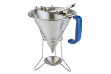 Confectionery funnel and stand