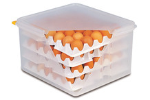 Trays for eggs-box