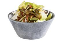Round salad bowl Element