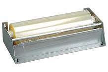 Cling film tear-off-dispenser