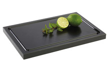 Black cutting board