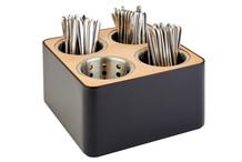 Cubic cutlery basket 4 bins