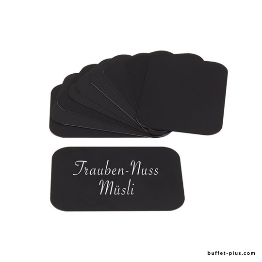 Black cards for table stand