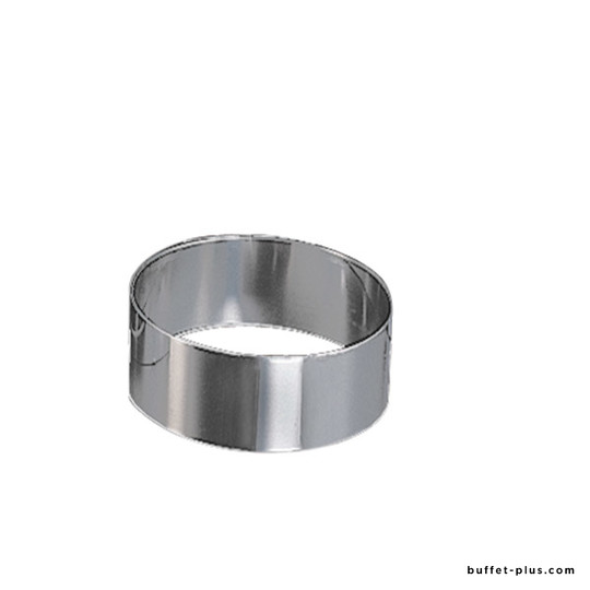 Adjustable cake setting ring