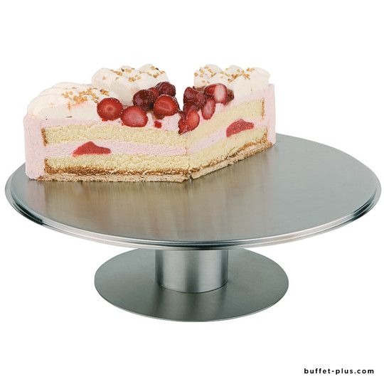 Cake stand Ø 30,5 cm with foot, rotating