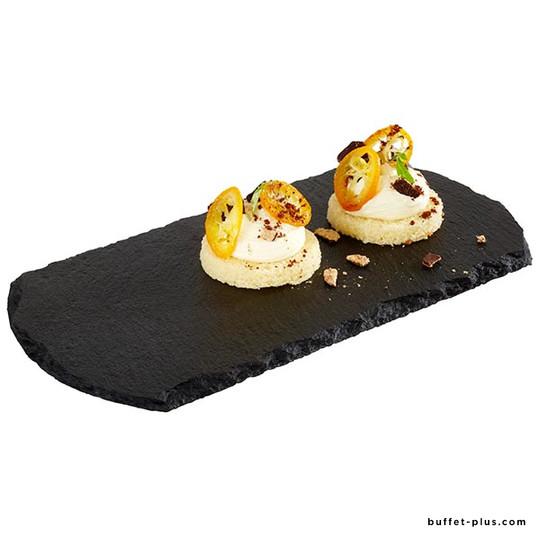 Natural slate serving board
