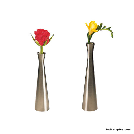 Zinc alloy flared flower vase
