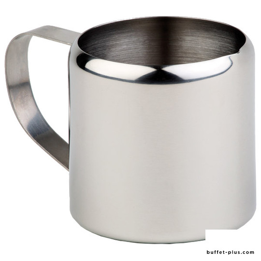 Small stainless steel water or milk jug