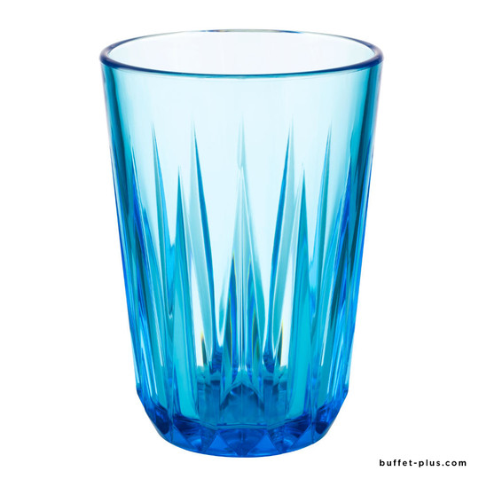 Drinkings blue cups Crystal, gift box 6 pieces