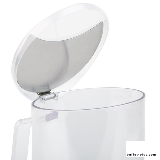 Lid for cereal pitchers