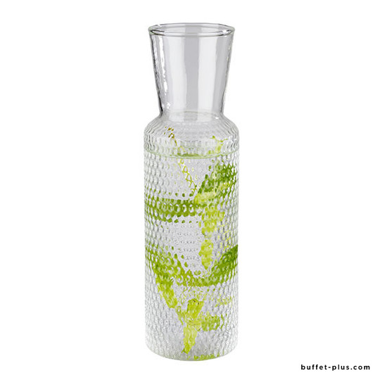 Glass carafe Dots