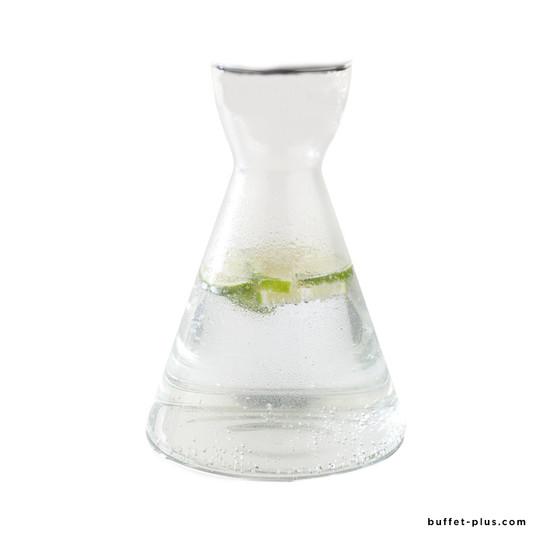 Spare glass carafe with pourer