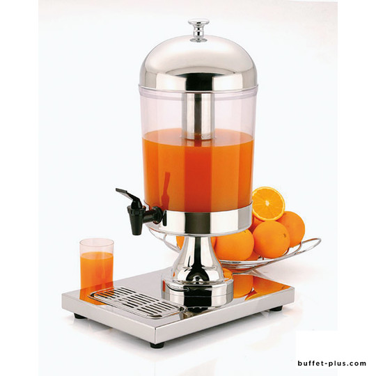 Stainless steel juice dispenser stainless steel Star collection