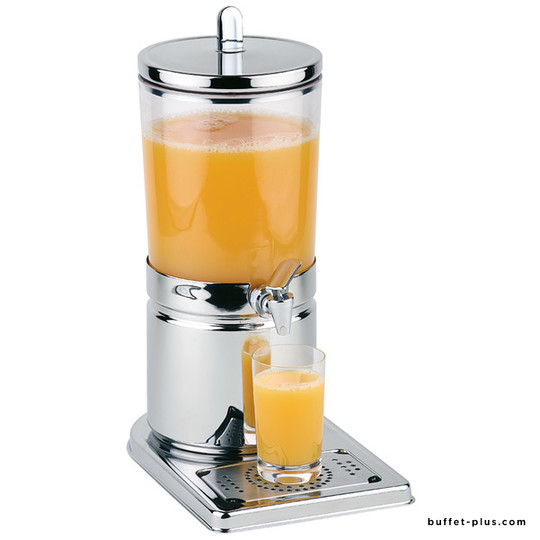 Fruit juice dispenser, stainless steel base Top Fresh  collection