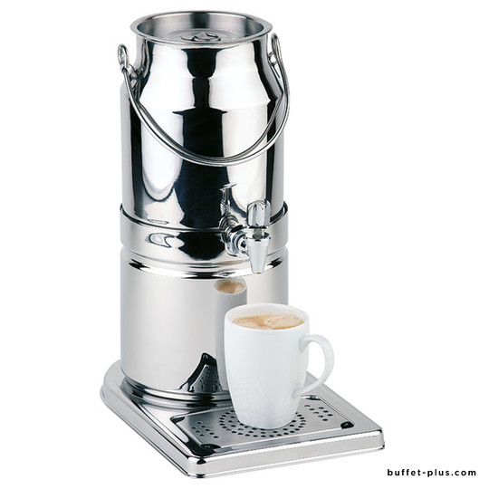 Milk dispenser, stainless steel base Top Fresh collection