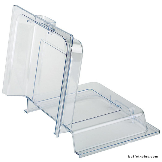 Clear foldable cover / lid for chafing dish, dish, container or basket GN 1/1