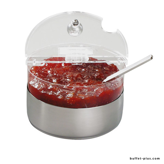 Cooled mini bowl stainless steel base Top Fresh collection