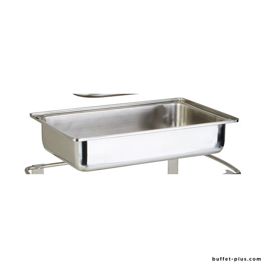 Water pan for chafing dish Elite, Window and Caterer