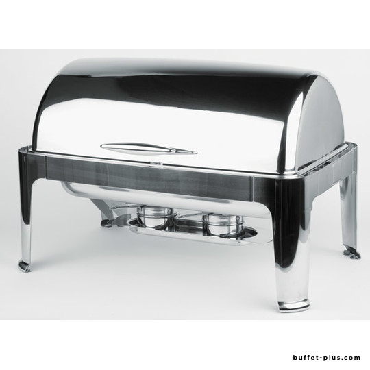 Stainless steel chafing dish GN 1/1, roll-top cover Elite collection