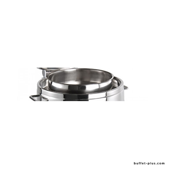 Round food pan, for chafing dish Premium or Globe 10 L