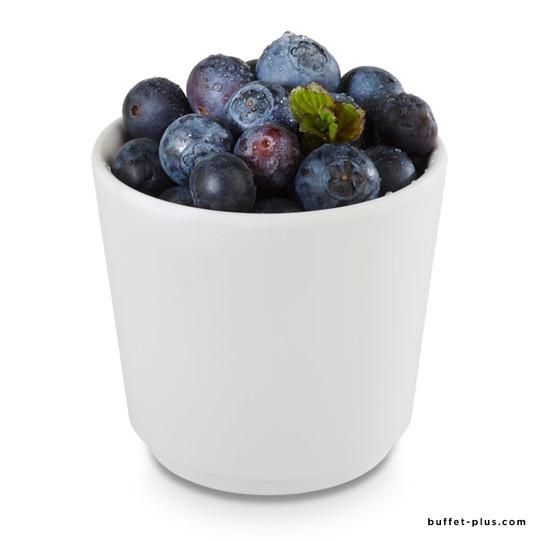 Round white melamine bowl Universal