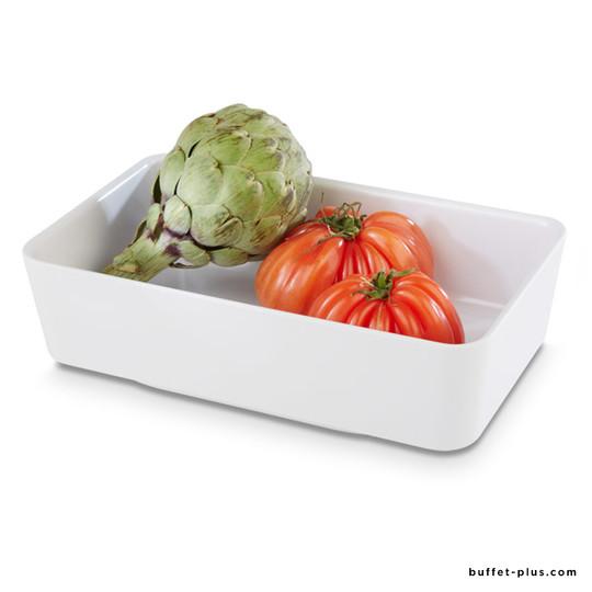 GN 1/4 white melamine bowl Universal