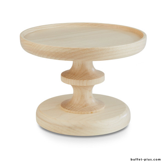Maple wood or oak wood cake stand Wood collection