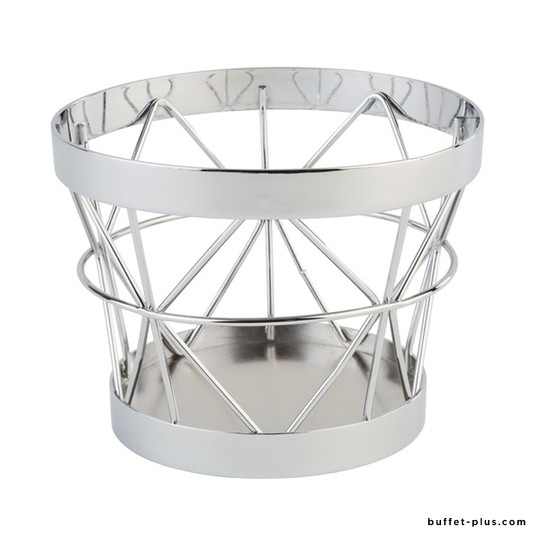 Metal stand / basket Ø 10,5 / 8 cm Baskets collection